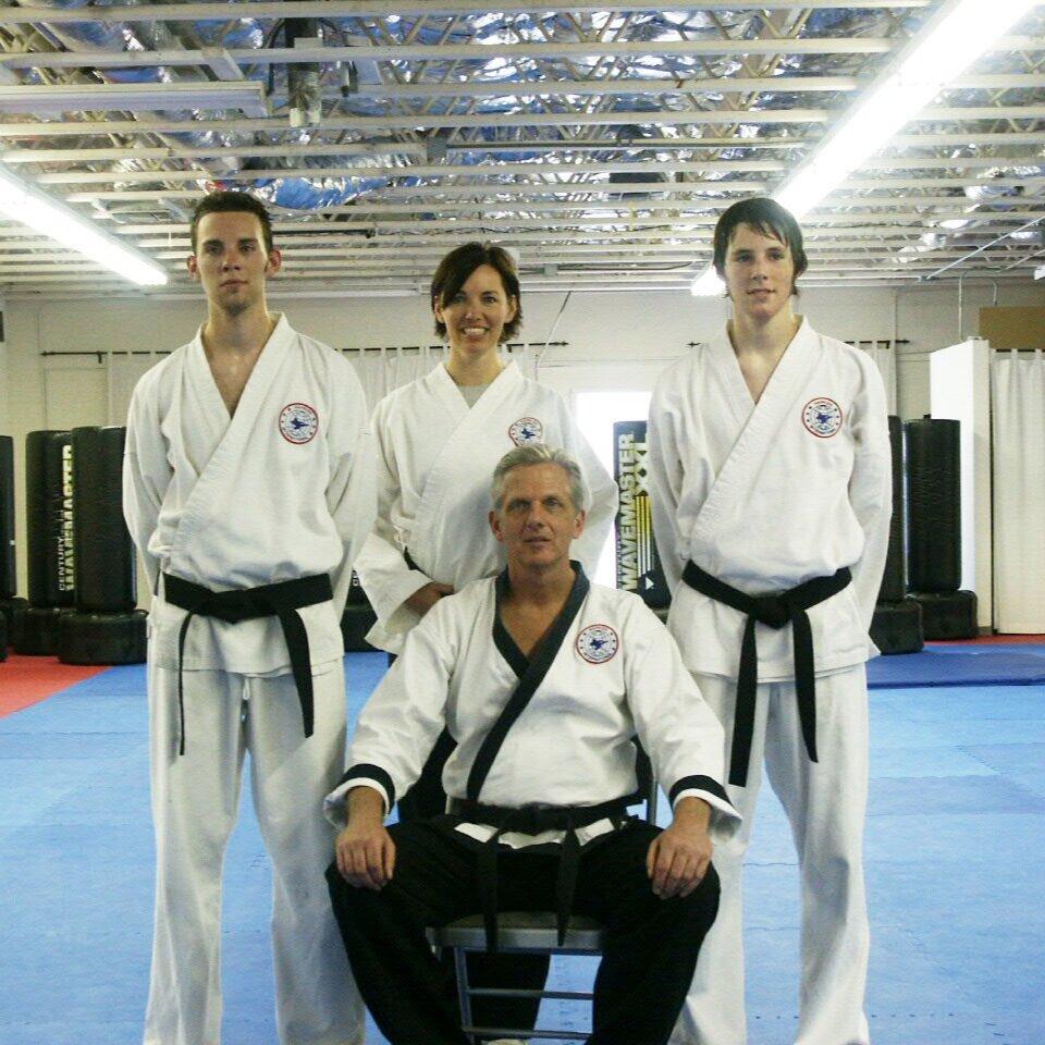 The founding MAFF family. Circa 2003.