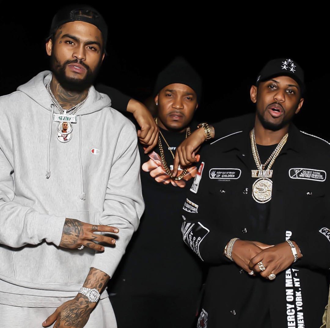 DJ Boof with Dave East and Fabolous. -