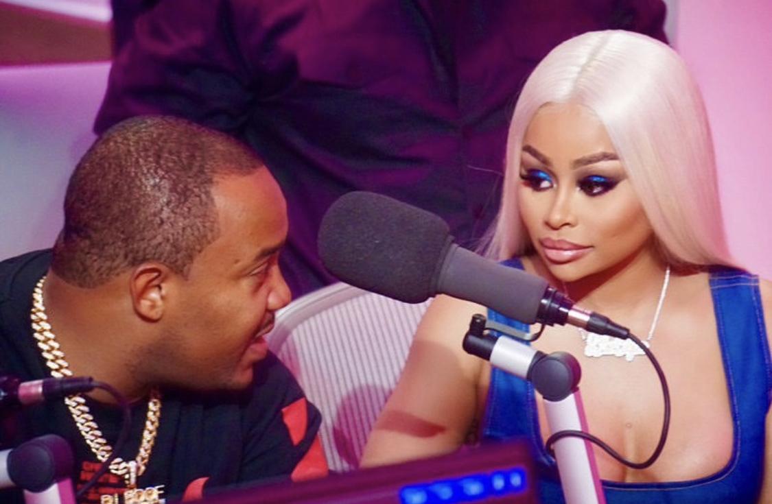 DJ Boof with Black Chyna. -