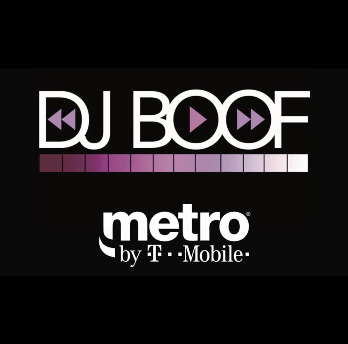 DJ BOOF COLLAB WITH METRO PCS -