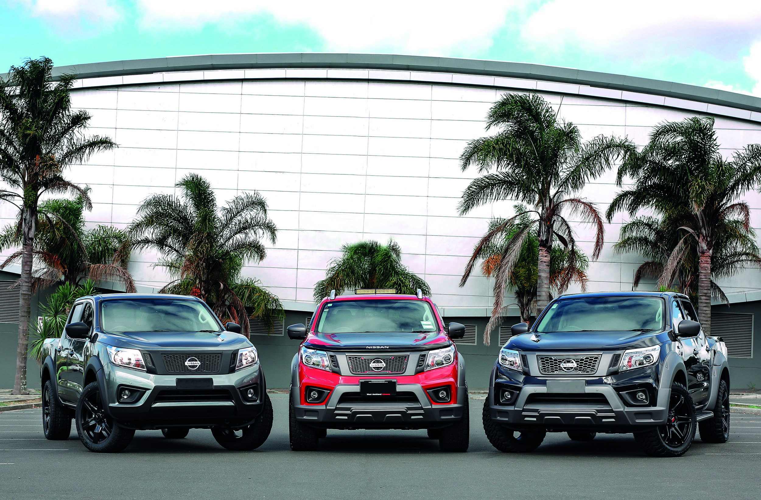 RVE-Nissan-Navara-three-vehicles-showing-different-front-grills.jpg