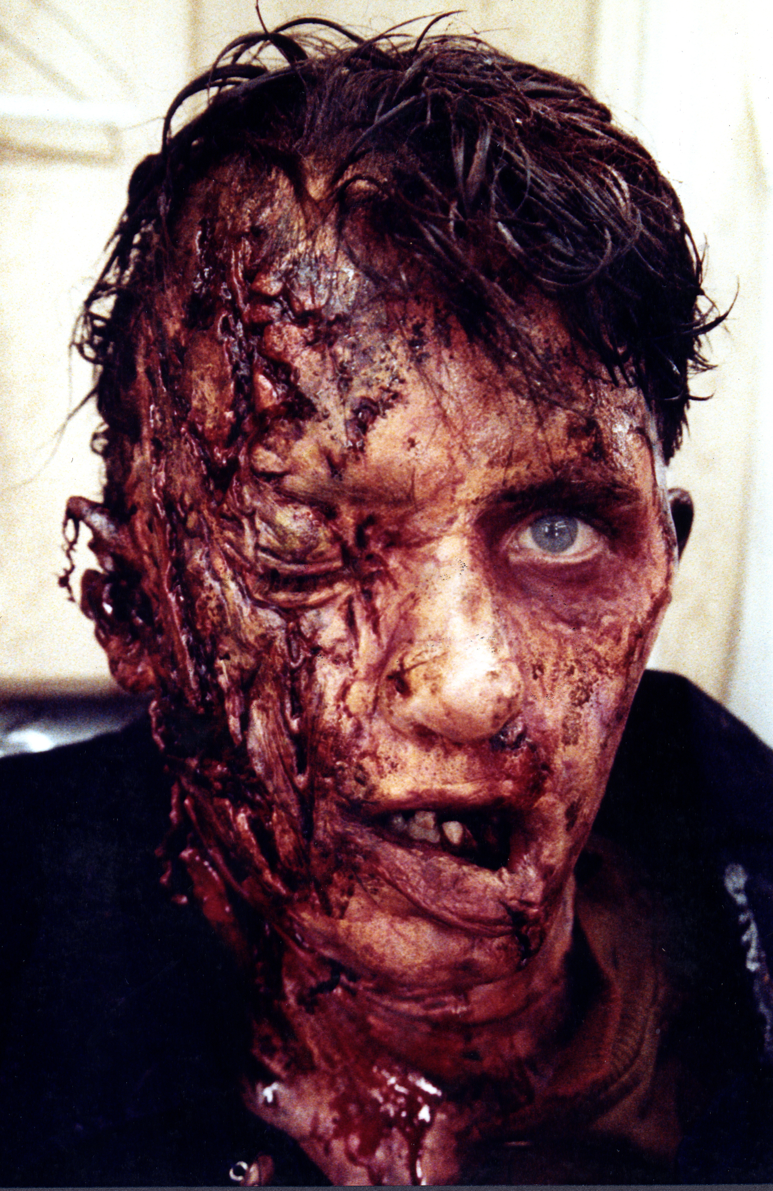 A little something from the way back. Jared Rushton in Pet Semetary 2.... Makeup created at the old Wheatland XFX shop. Applied by David Barton and myself.