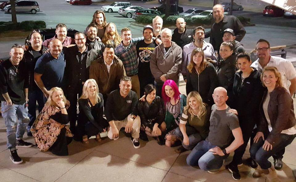 """Besides all of the technicians and artists back at Legacy Effects, I would like to thank all of these folks for an amazing time.  This film was a big one for me, and we all rose to the occasion and brought our """"A"""" Game."""