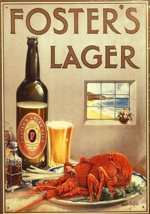Foster's Lager  Commercial