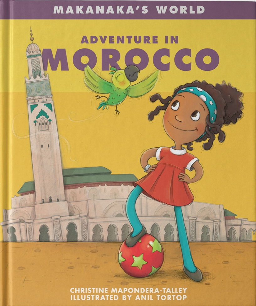 - Makanaka's World: Adventure in MoroccoOh, my noodles! Makanaka just got a message from her friend, Nadia. She's inviting Makanaka to visit her—in Morocco!Fari and Makanaka quickly take off for Casablanca. But when they arrive, they discover that Nadia has a problem. Someone has taken her team's soccer ball! Can Makanaka and Fari help Nadia's team solve the mystery?