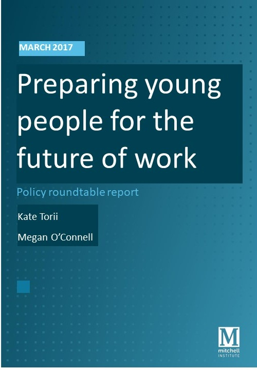 Research presentation on the future of work and what this means for education.