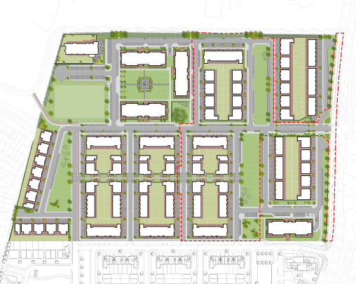 Newtown planning application submitted - PLACE was commissioned by Formation Design & Build Ltd to prepare a Landscape Strategy for a proposed new residential development and associated infrastructure in Newtown, Limerick, Ireland.The proposed development consists of 378 units with associated open space, footpaths, cycle paths and vehicular infrastructure across a 9.21ha site.July 2019