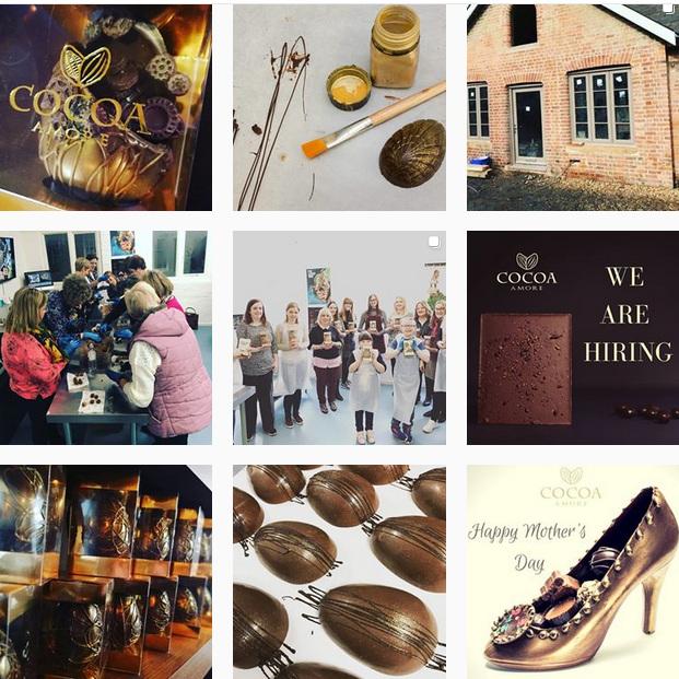 Cocoa Amore Instagram account    @cocoaamore