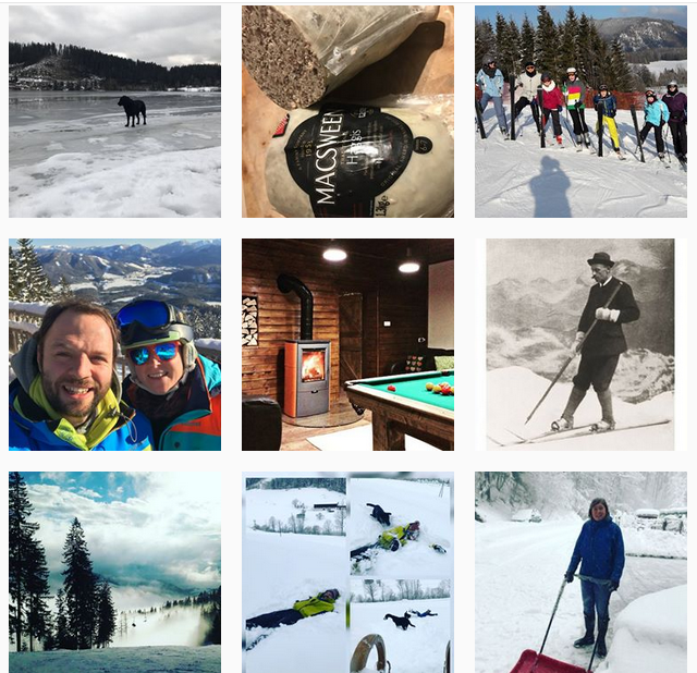 Waldblick Landhaus Instagram account @waldblicklh