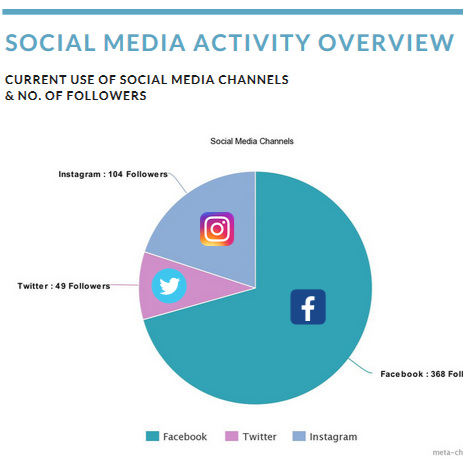 Social Media Report incl. analysis & recommendations