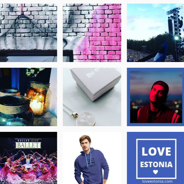 Love Estonia Instagram account    @loveestoniaofficial