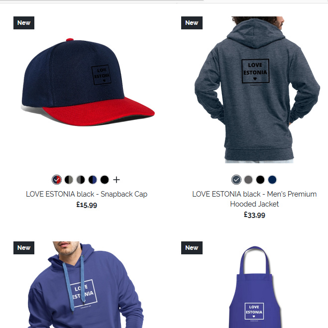 Love Estonia    online store