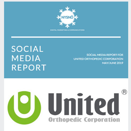 Monthly Social Media Reports for UOC UK