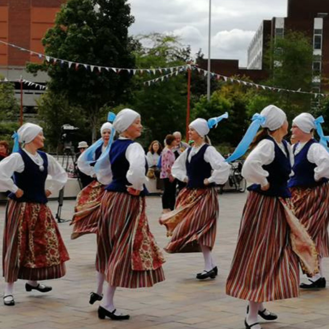 Performances at Jubilee Square, Leicester