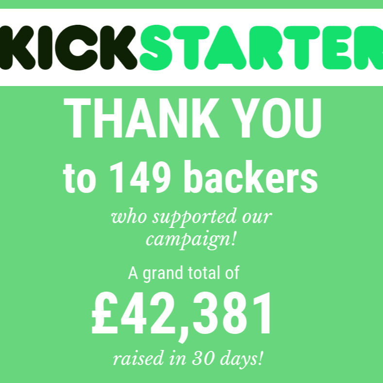 A successful crowd funding campaign