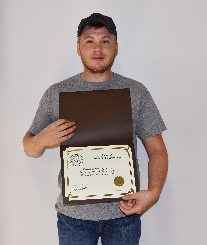 Morgan Greenlee - Distinguished Master Award