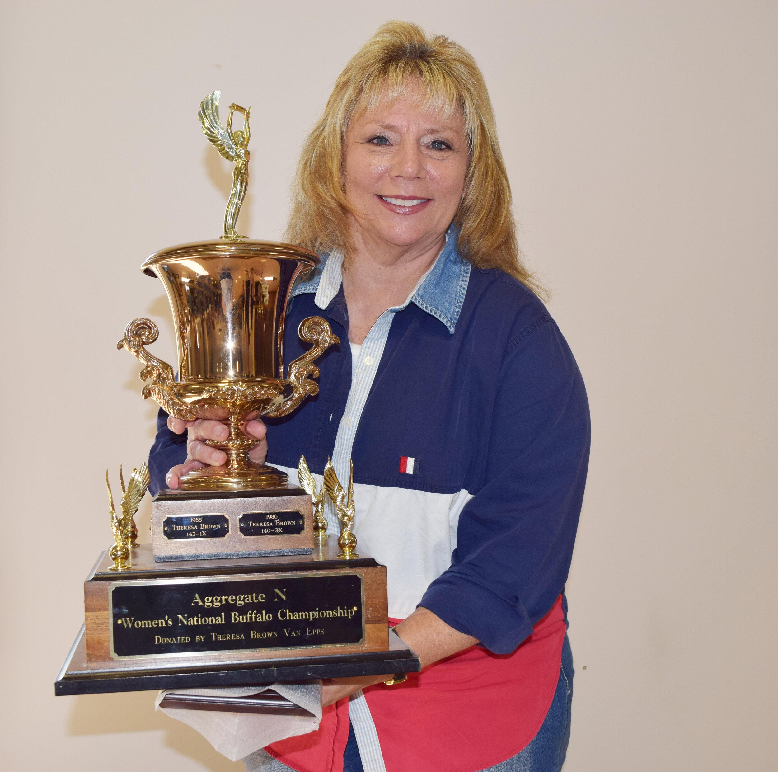 Theresa Van Epps - Aggregate N - Women's Buffalo Championship Winner