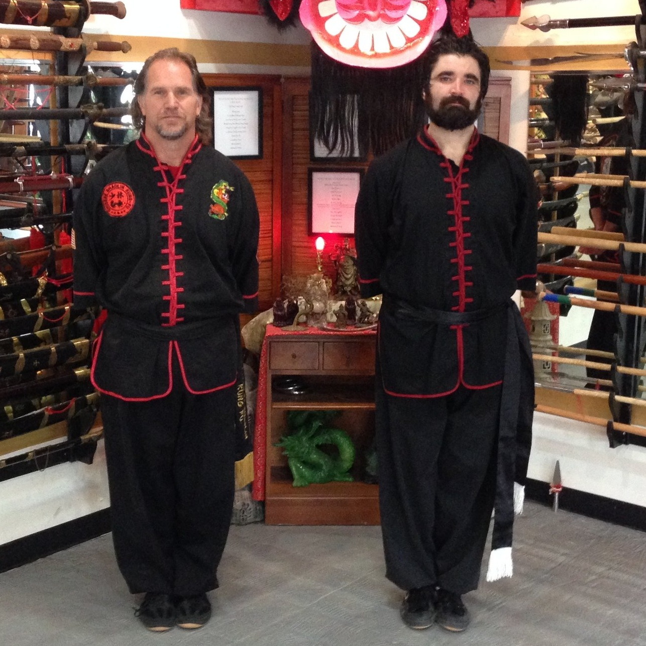 School of Shaolin - Sigung Michael Voss has been preserving the Tai Mantis Kung Fu system by traditional teaching methods for over 30 years at the School of Shoalin. Sifu Tristan Frankus has spent 16 years training under the Sigung Michael Voss' guidance.Coon Rapids MN