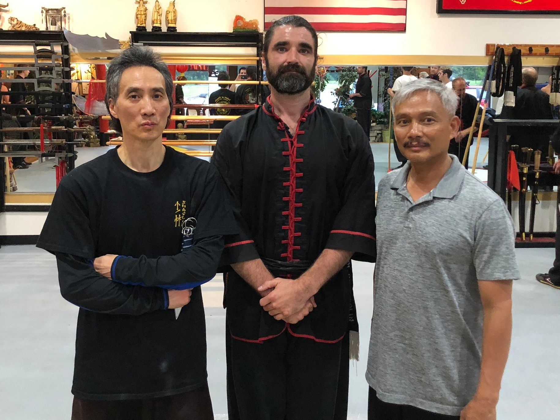 Rick WinG - Sifu Rick Wing was a disciple of Sifu Wong Jack-Man in the style of Bak Si Lum. Sifu Rick Wing preserves the art of Bak Si Lum through his published works, seminars, and classes, which Sifu Tristan Frankus has been honored to attend.