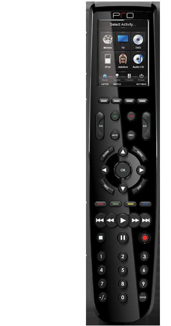 PRO CONTROL touch screen remote control