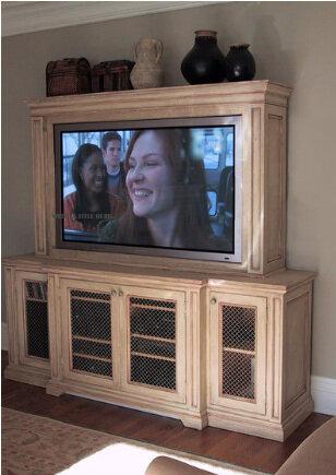 Custom fitting TV -