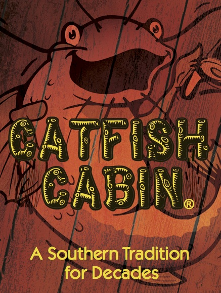 AT CATFISH CABIN® WE LOVE CATERING! - BANQUET FACILITIES MEETING ROOM ONSITE CATERING AVAILABLEASK A MANAGER TO HELP YOU PLAN YOUR NEXT EVENT!  (256) 878-8170