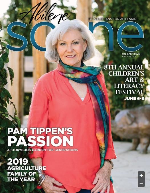 The Abilene Arts Alliance partners with Abilene Scene magazine to provide funding to market arts events.