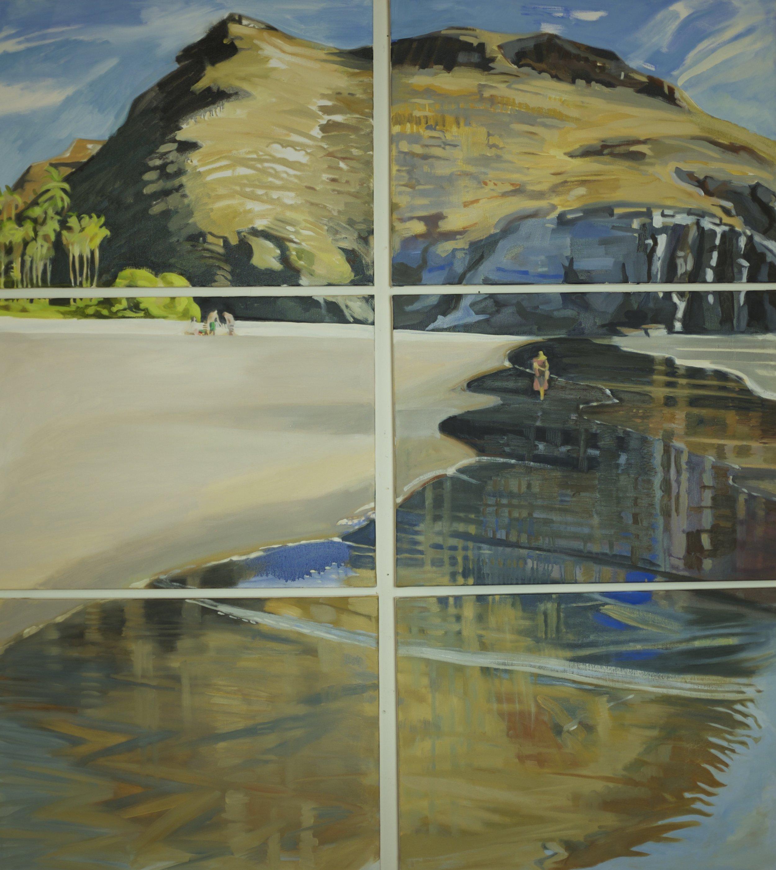 Double Triptych, Las Palmas