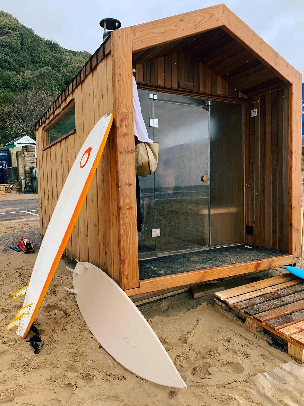 Swim, surf, sauna