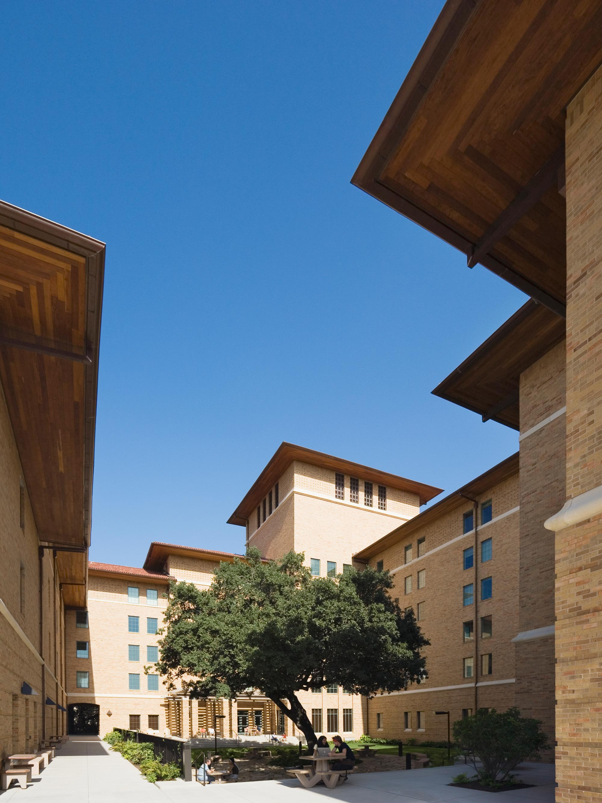 Almetris Duren, University of Texas at Austin   Residence Hall | Student Life | Exterior Social Space | Gateway