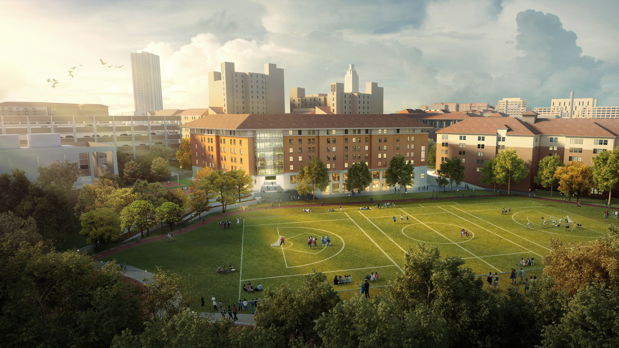 Student Life Master Plan, The University of Texas at Austin  Student Success | Residence Hall | Academics | Fusion Facilities