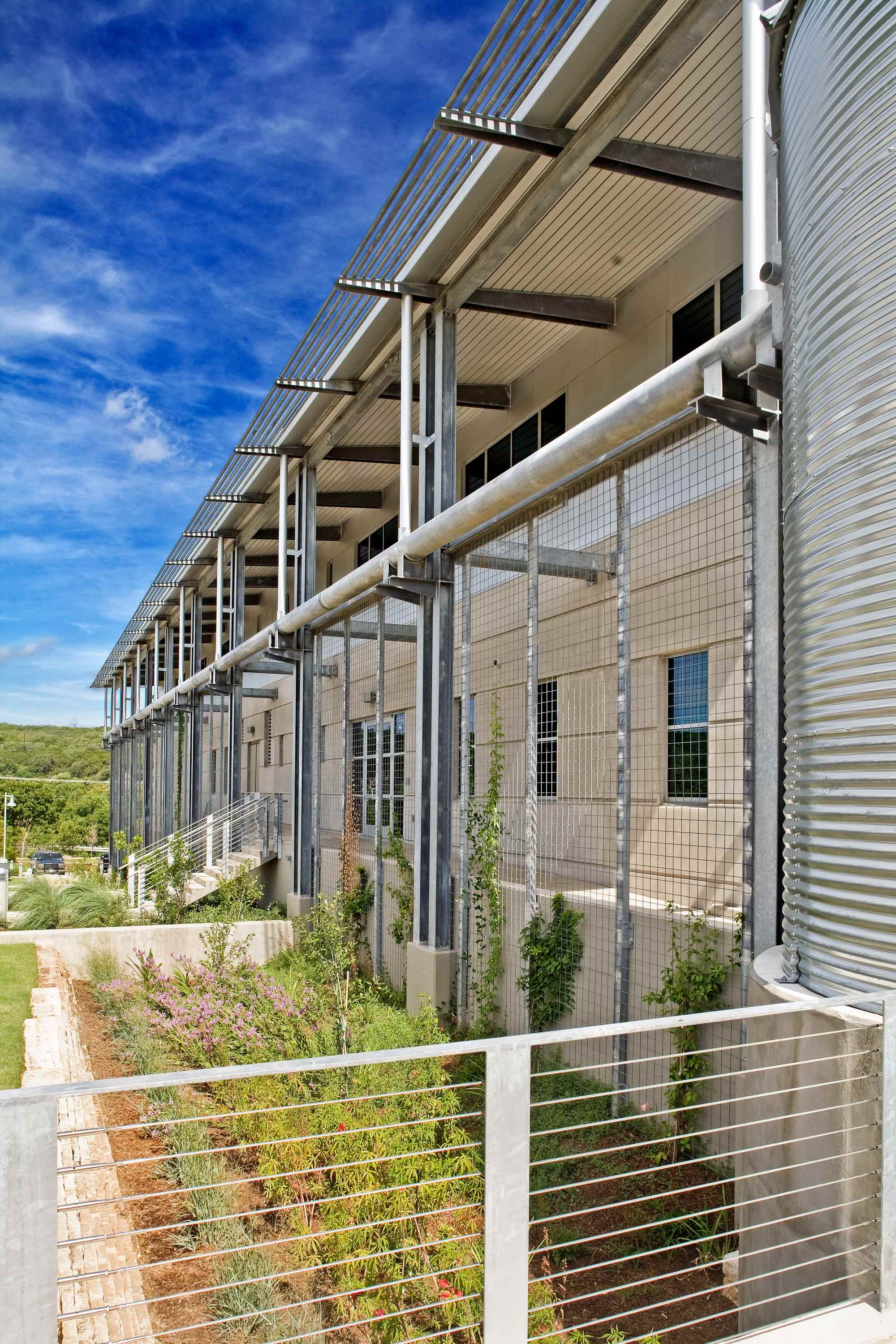 Redbud Emergency Operations Center, Austin, TX  Community Destination | Office | Sustainability | LCRA