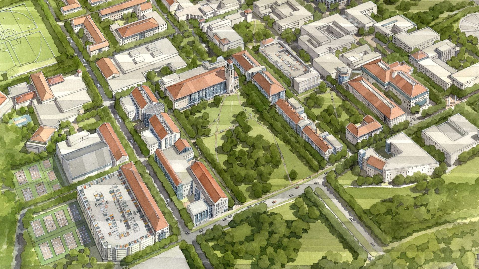 Multi-Campus Master Plan, The University of Texas at San Antonio   Student Life | Public Space | Walkability