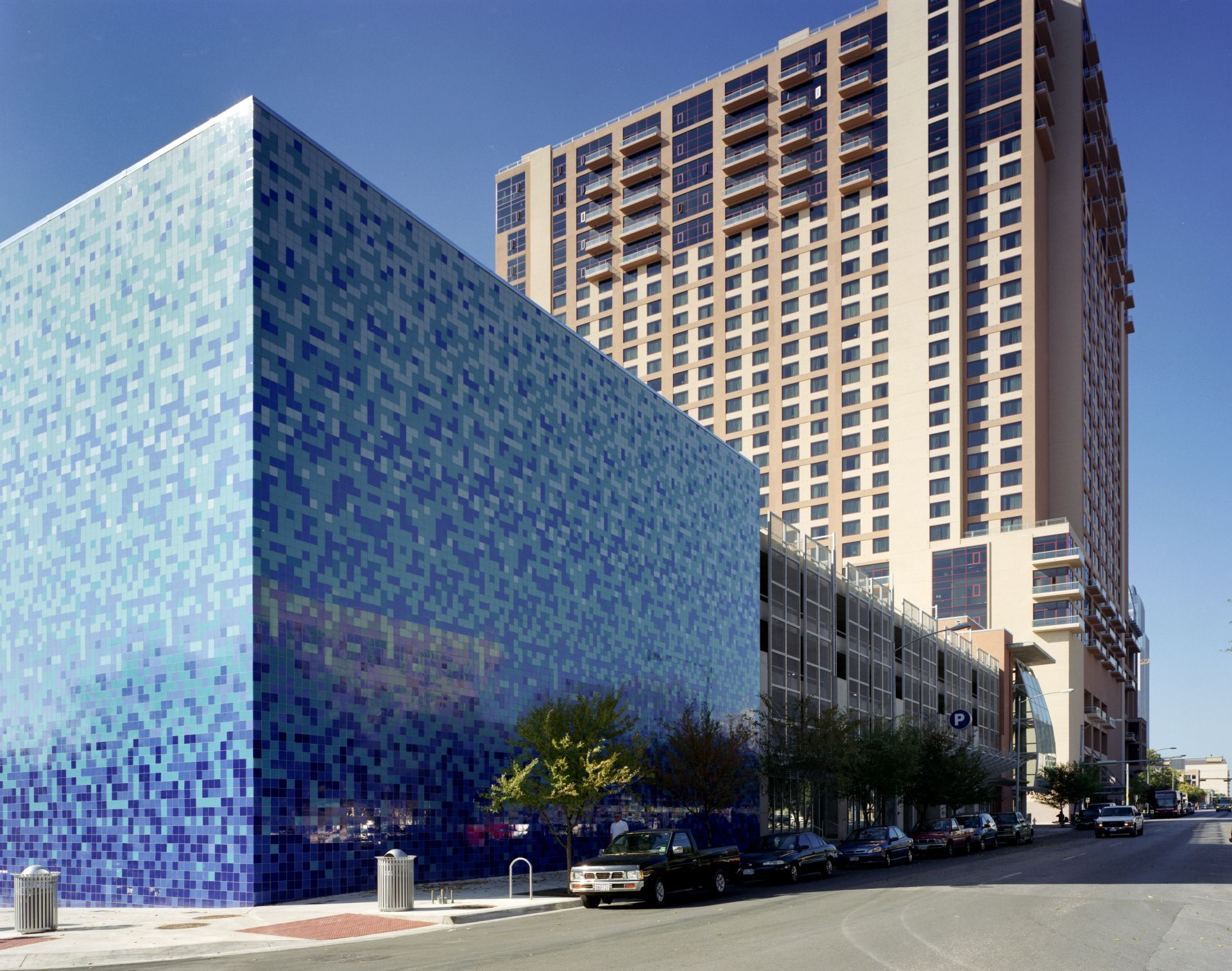 Convention Center Parking Garage and Cooling Plant, Austin, TX  Mixed-use | Public Artwork | Chiller | Retail