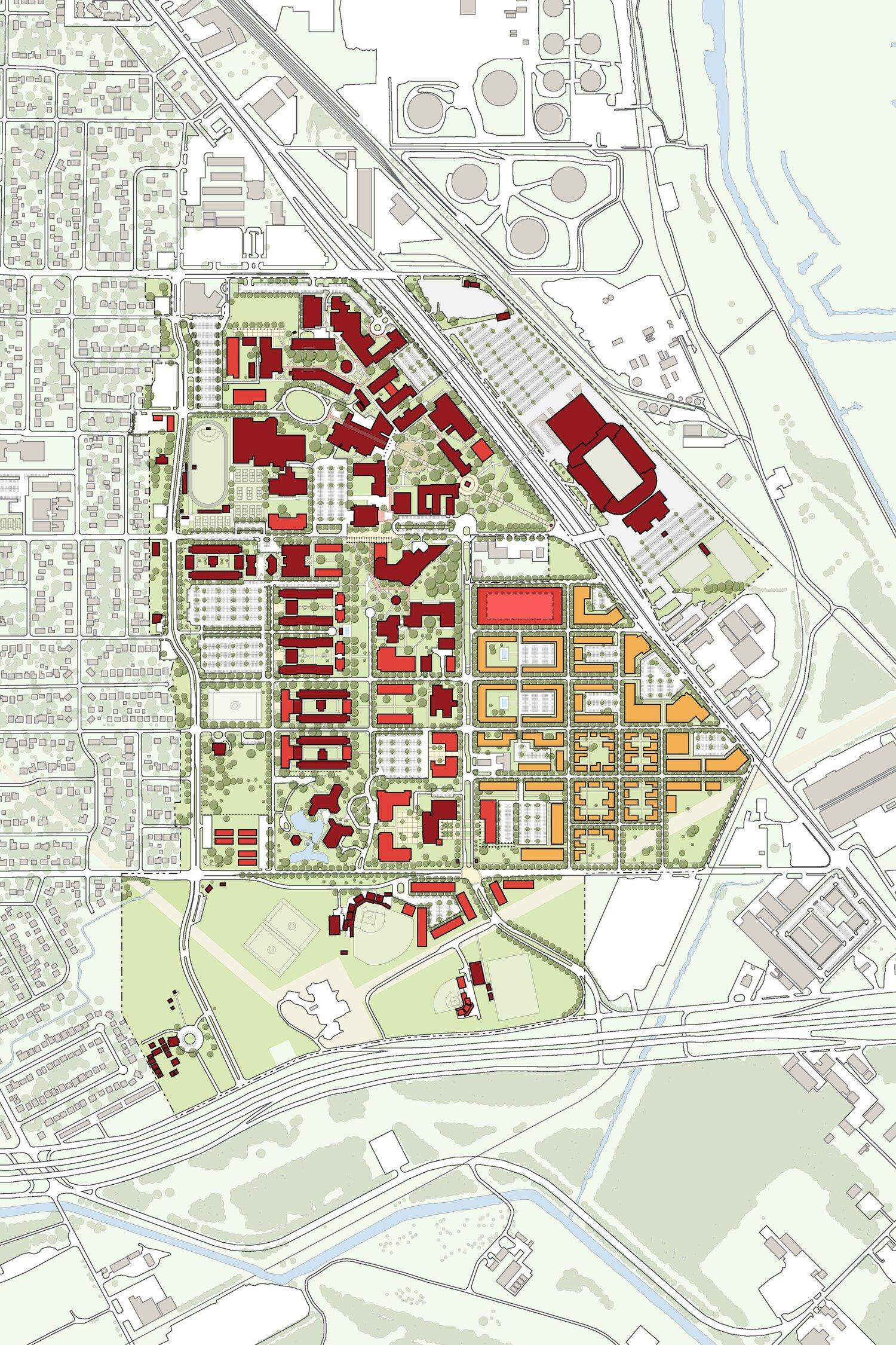 Lamar University Campus Master Plan — bgk