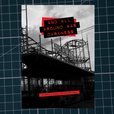 and all around was darkness - Collaboration with Mike Dines and Greg Bull. Limited edition punk anthology of independent writing and artwork. Chapter by Russ Bestley entitled  How Much Longer? Punk Styles, Punk Aesthetics, Punk Conventions, pp.188-207. Published by Itchy Monkey Press, Portsmouth, Summer 2017. Cover photography by Sarah Dryden.