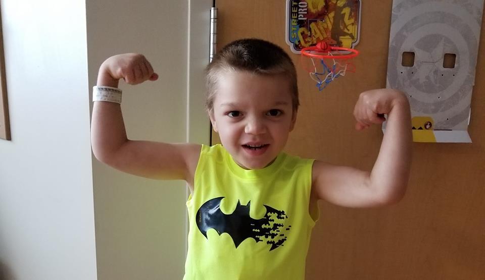 Michael, dx: leukemia, age 6