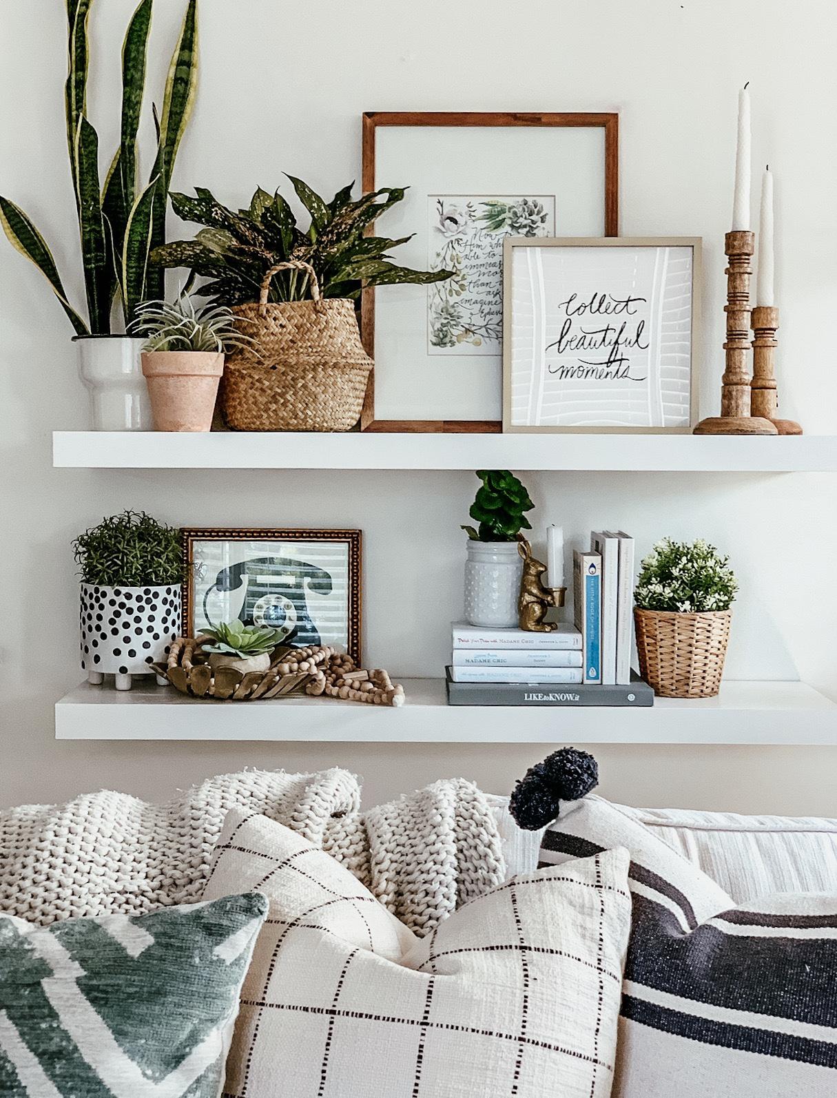 ohmydearblog, the beauty revival living room decor