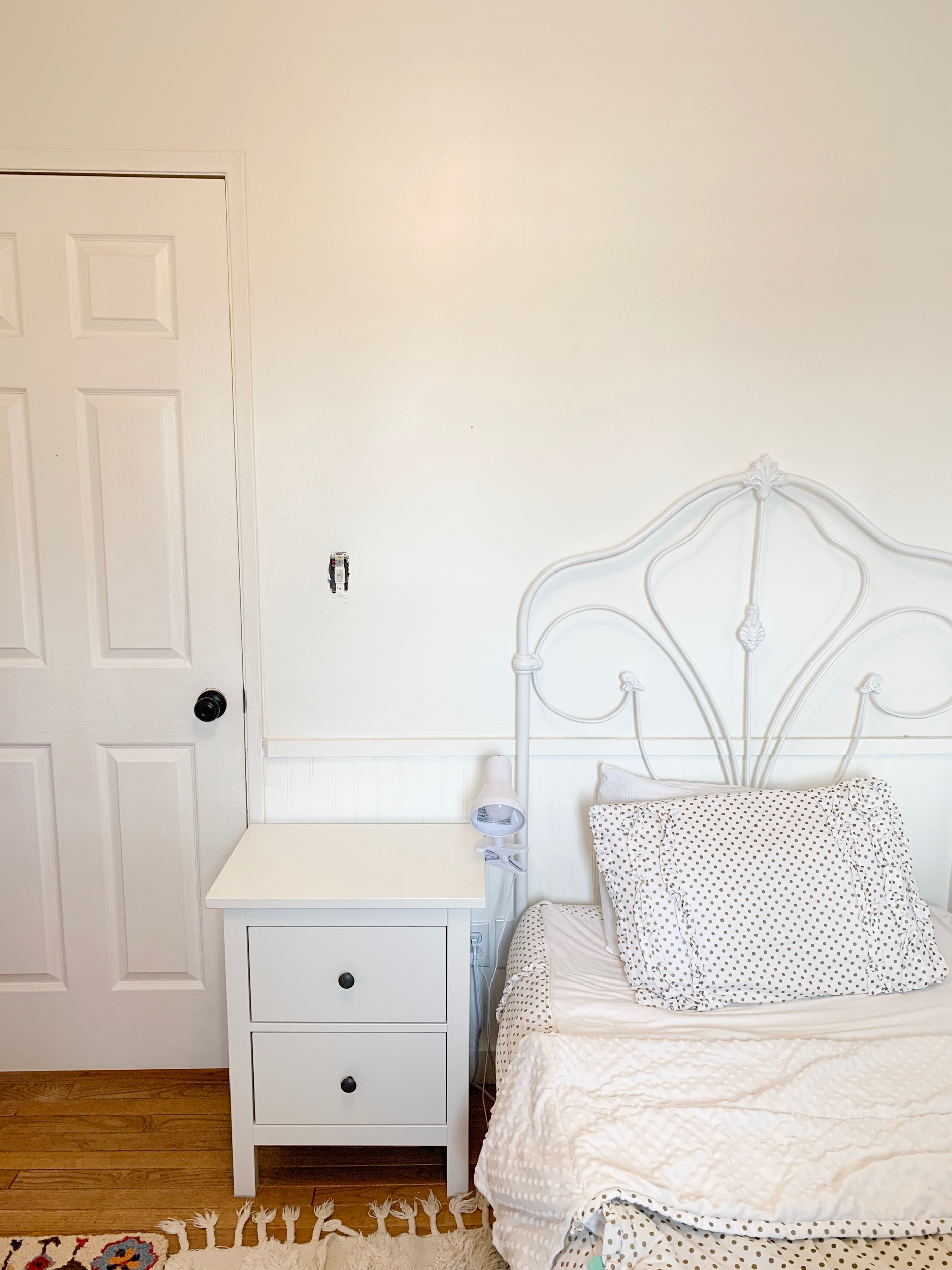Elizabeth's mini room makeover, ohmydearblog, the beauty revival