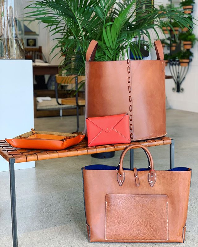 A friendly reminder that we are not open tomorrow, stop by today! Next weekend we will be hosting Eric & Sherry Leitz for a very special trunk show. Friday & Saturday 12-4pm with custom monogramming available on their beautiful leather accessories @leitzleather