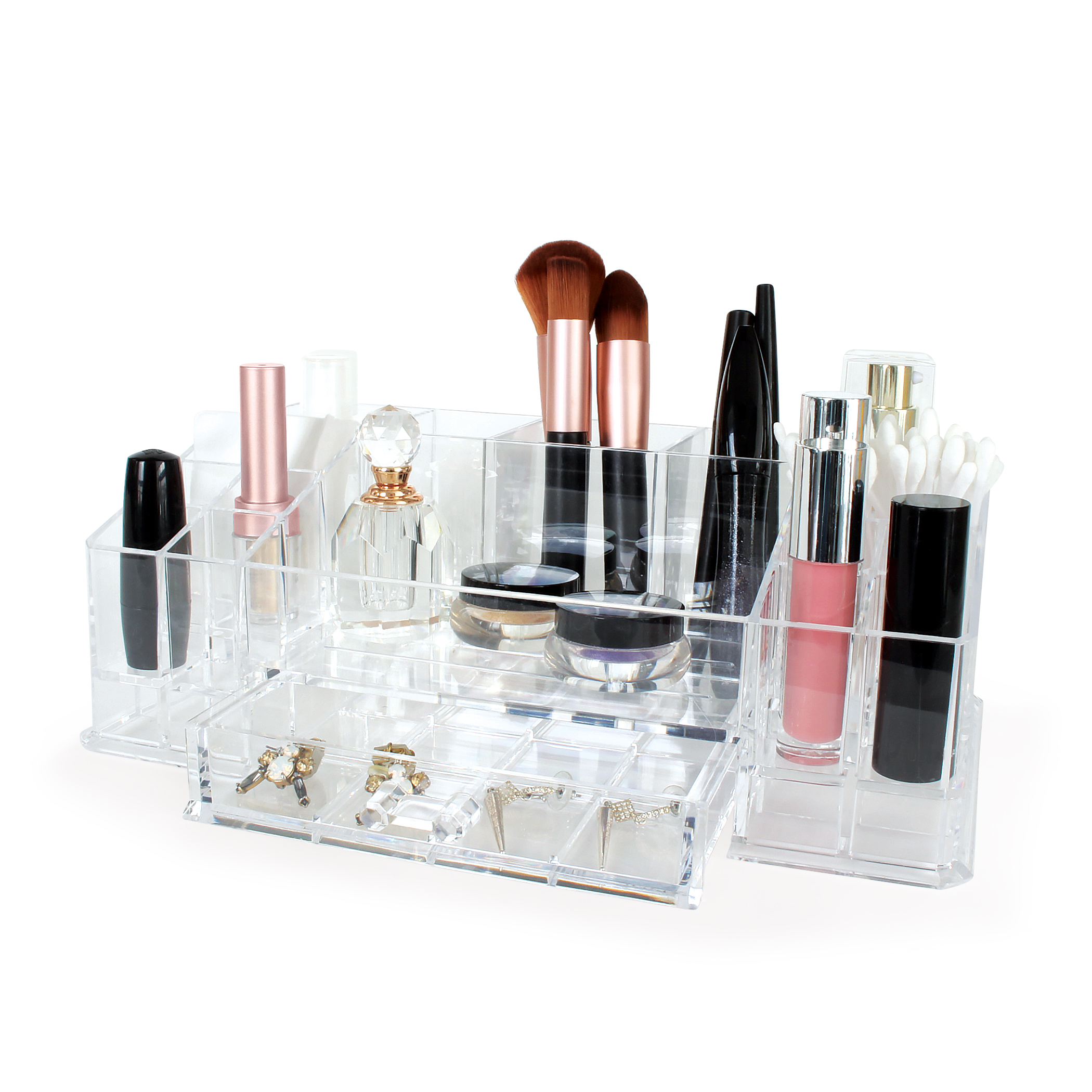 Acrylic Organizers - Keep your bathroom products organized and easily accessible with our acrylic organizers.