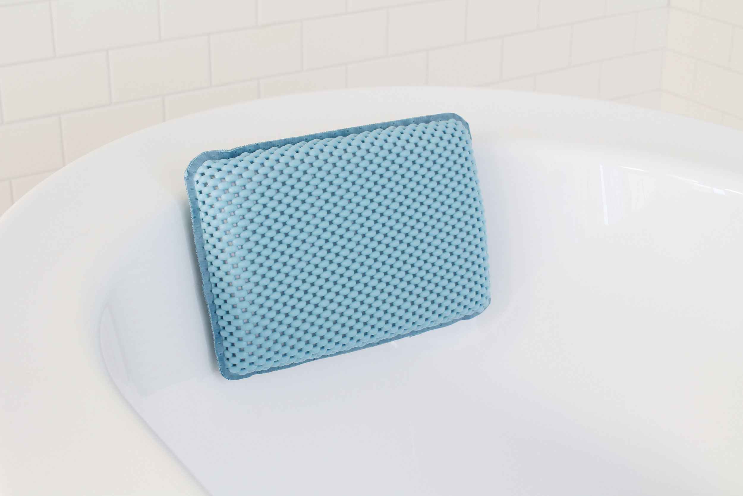 Softee bath pillow