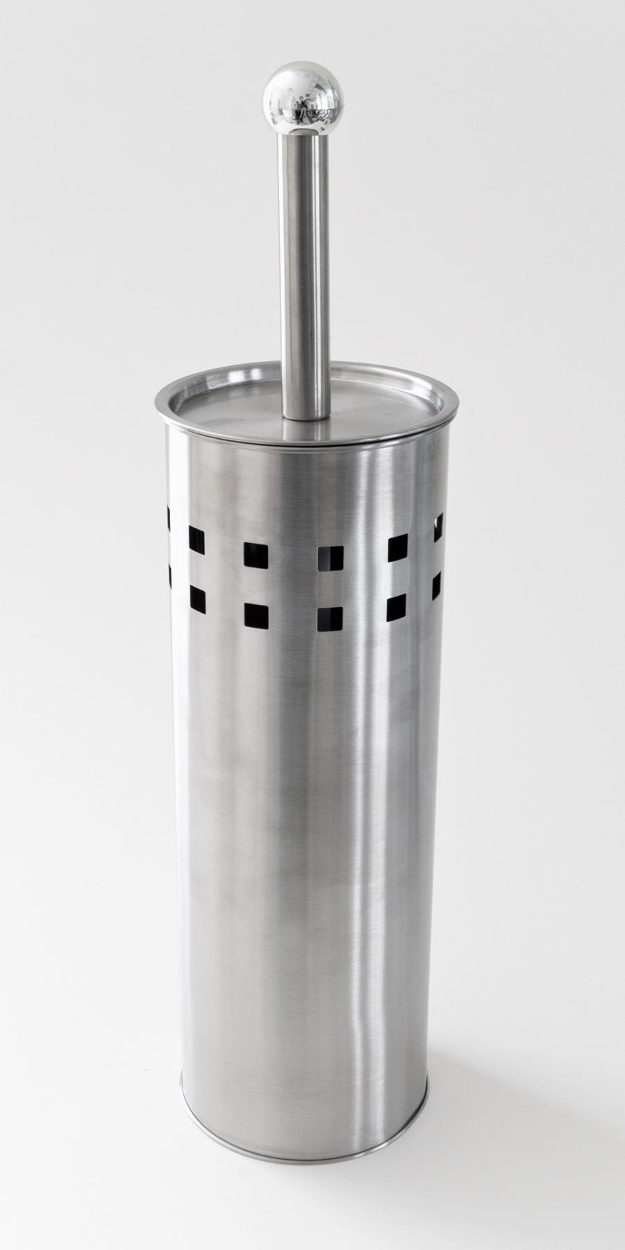 Porte brosse de toilette en métal