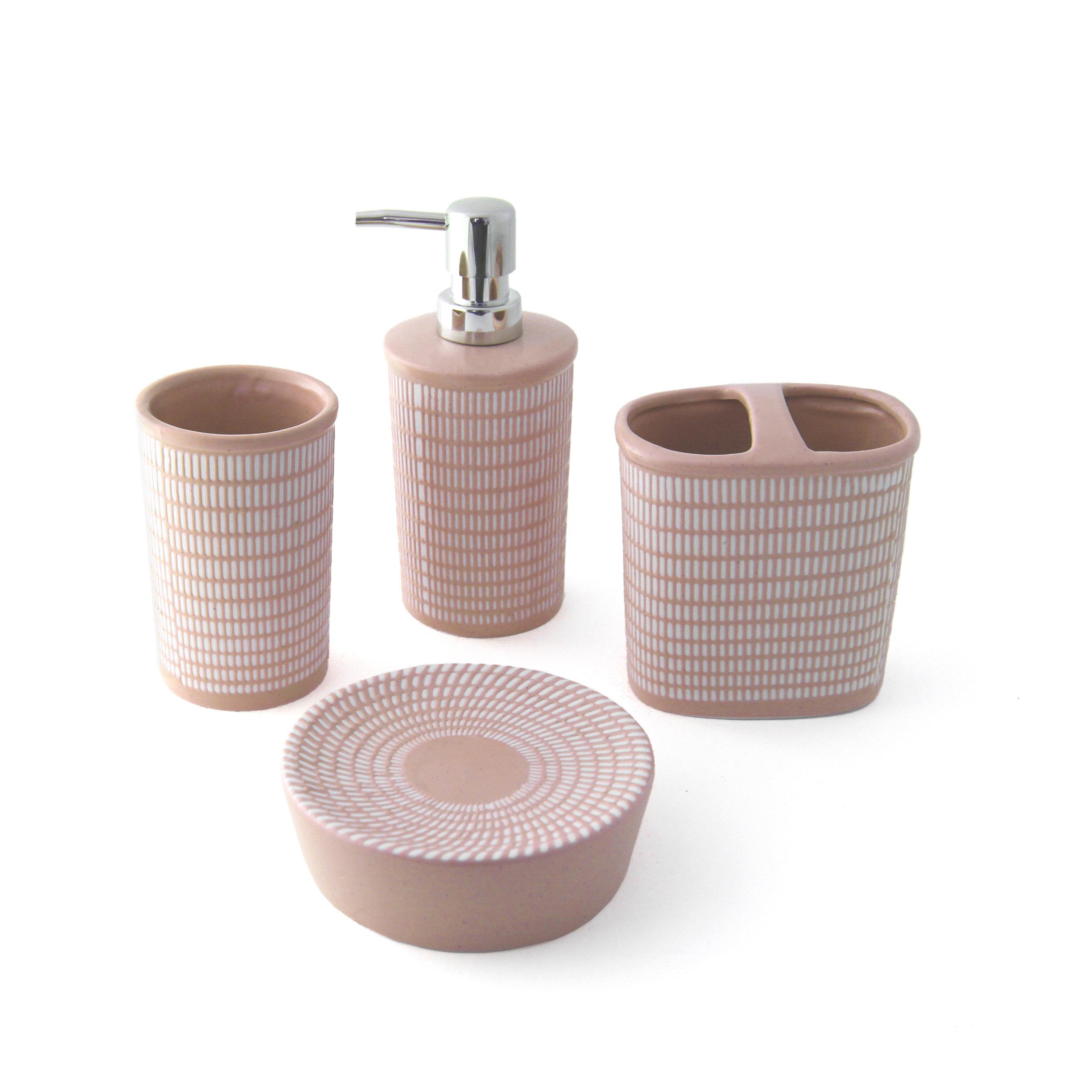 Anatolia ceramic accessory set