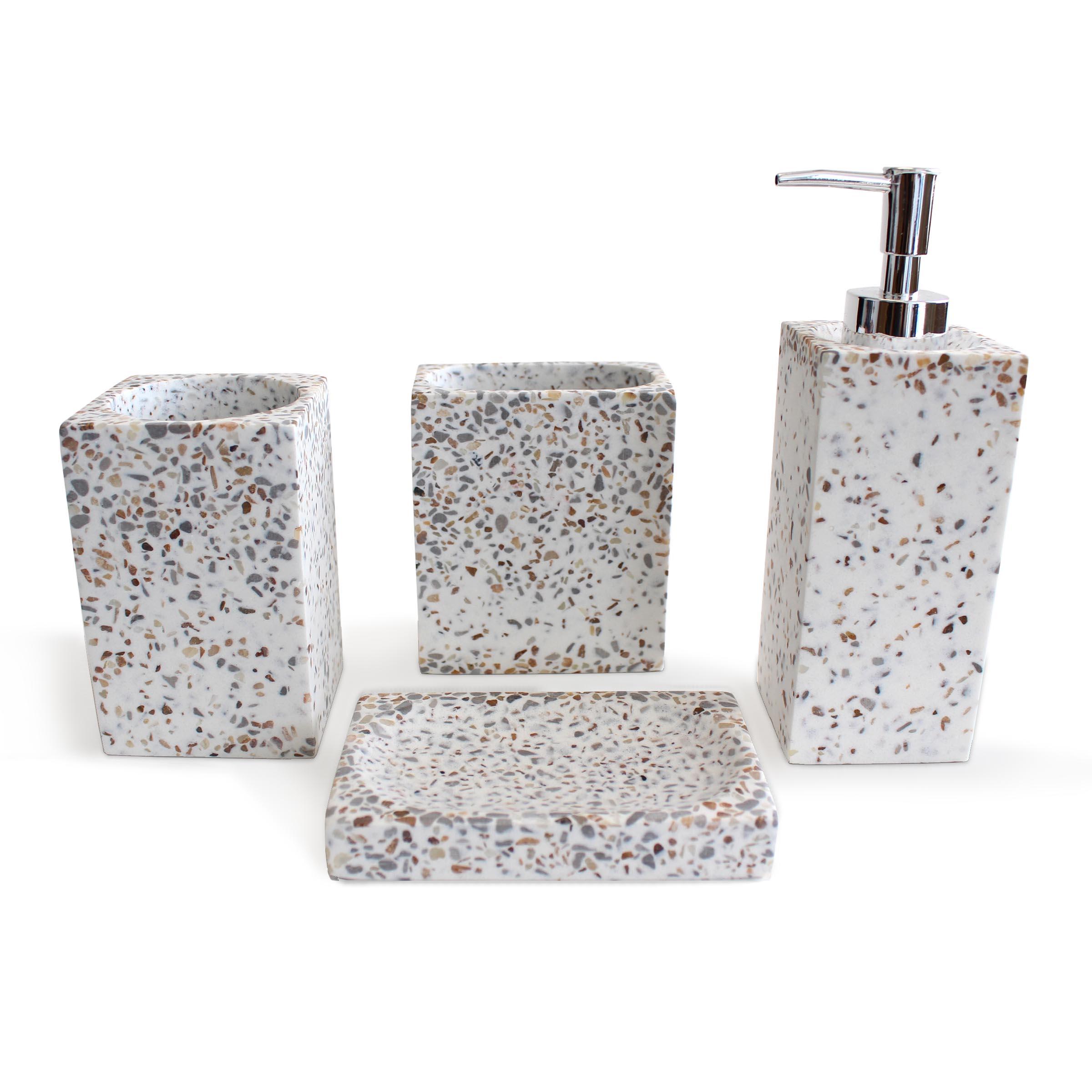 Terrazo multi resin accessory set