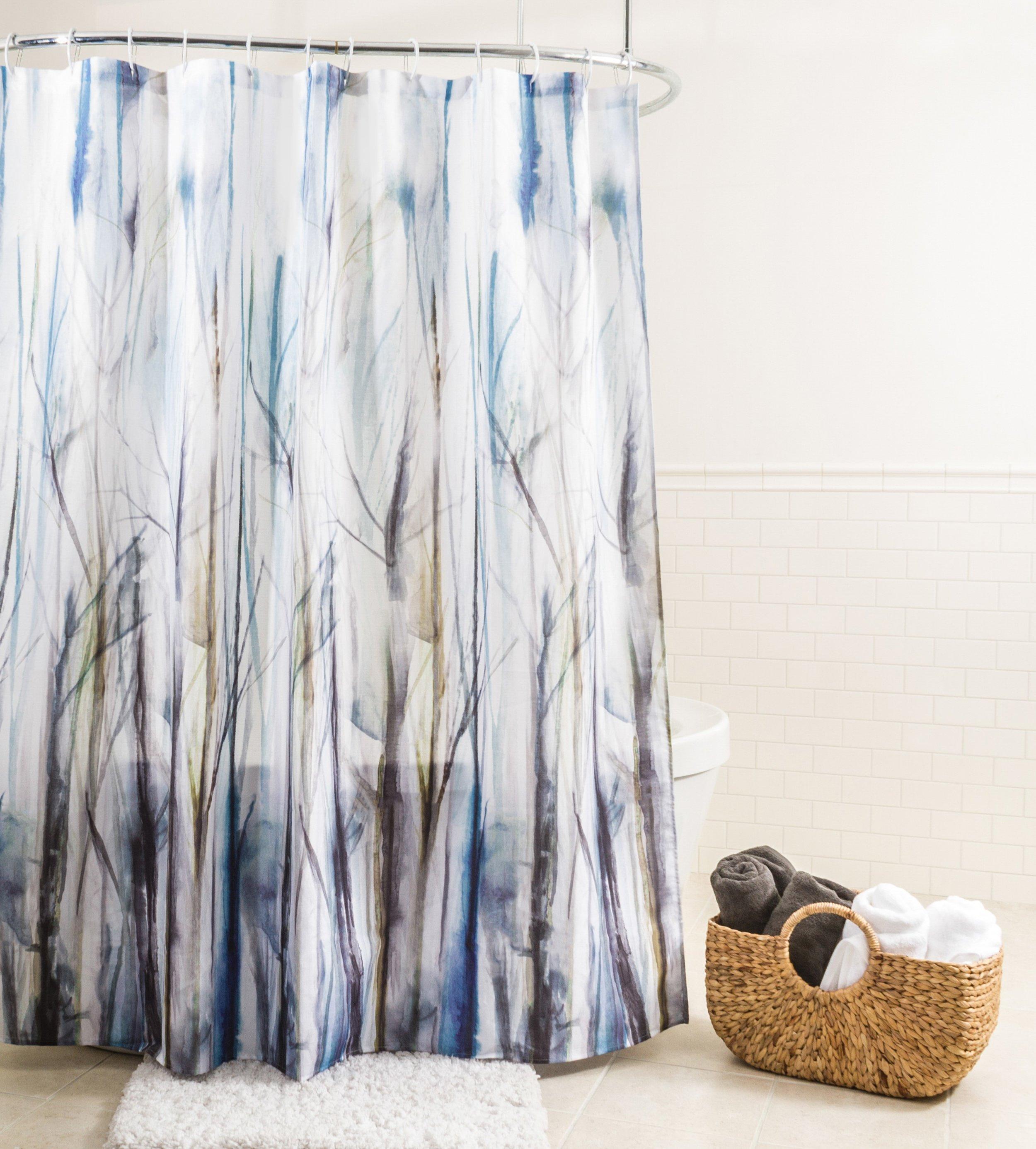 Rideau de douche en tissu Tulus