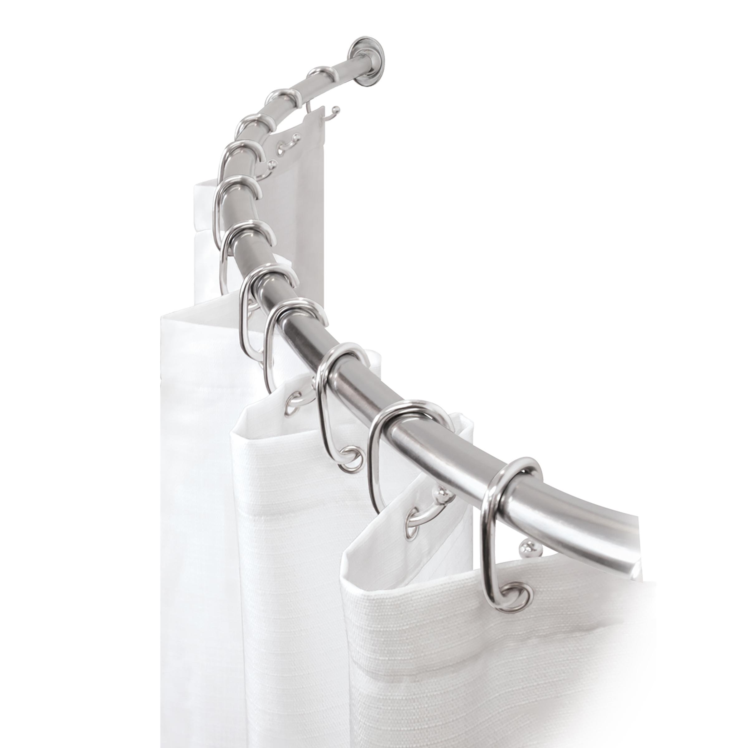 Tringles de douche - Découvrez ici notre large gamme de tringles à rideaux de douche.