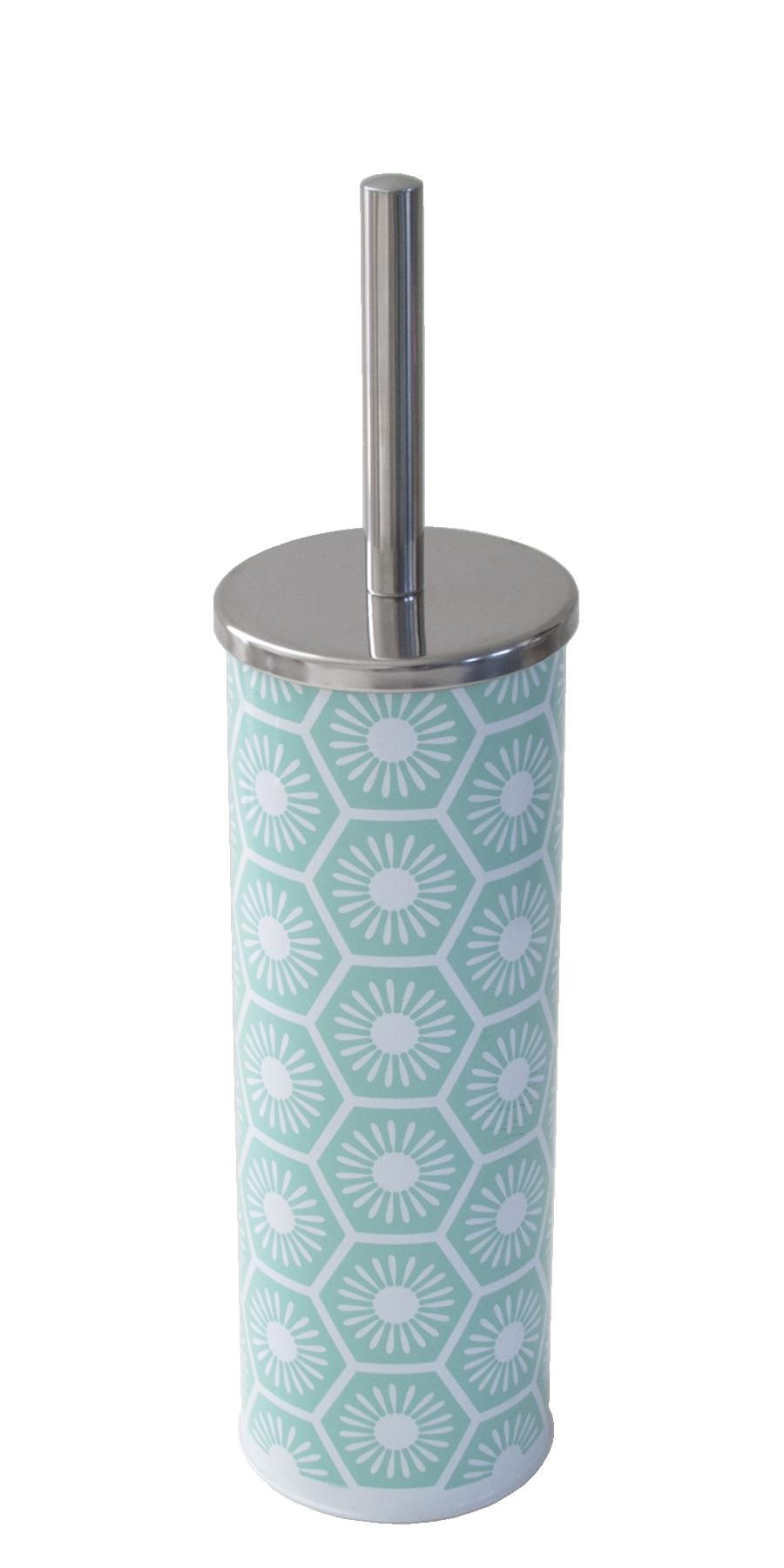 Porte brosse Aqua imprimé
