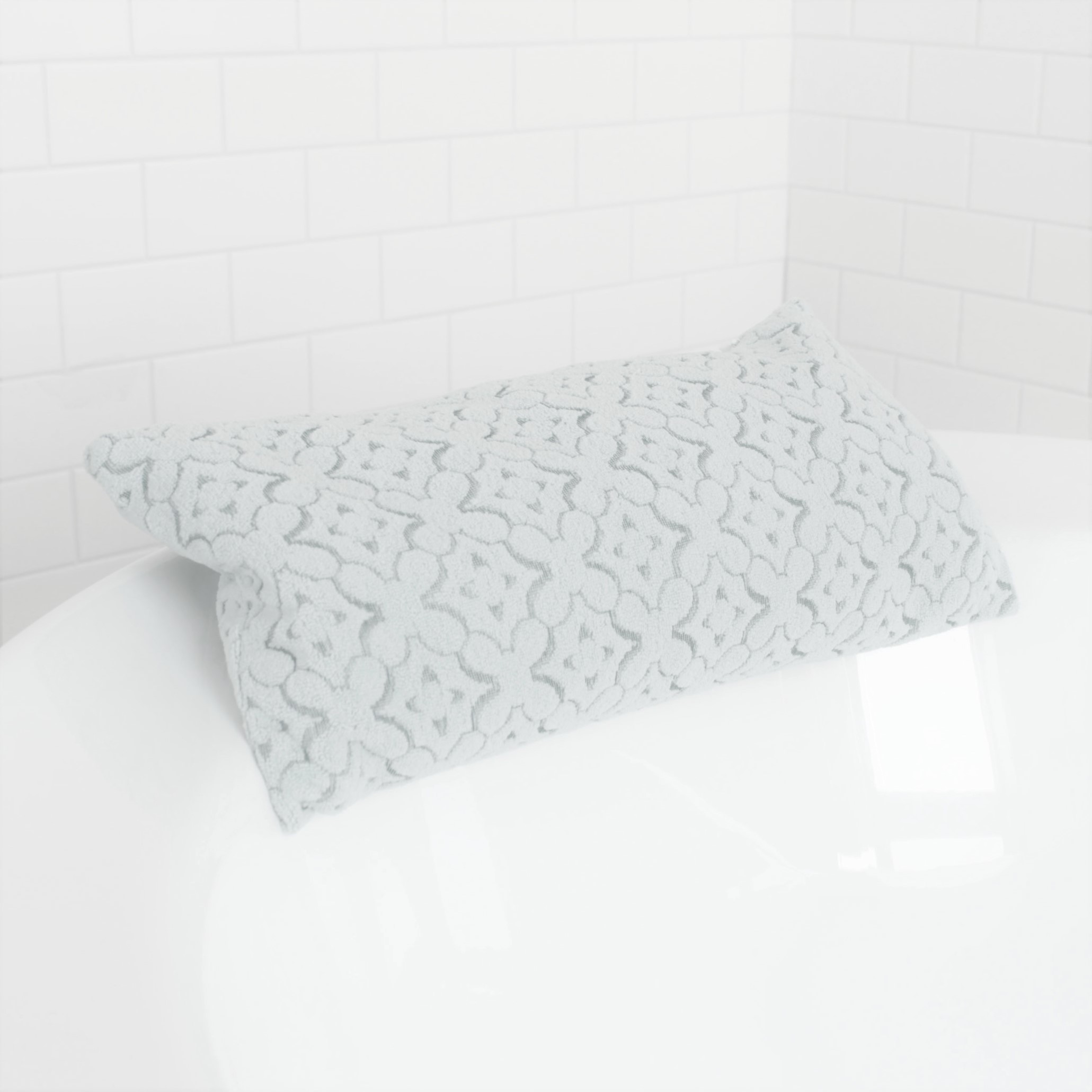Sharuz fabric bath pillow