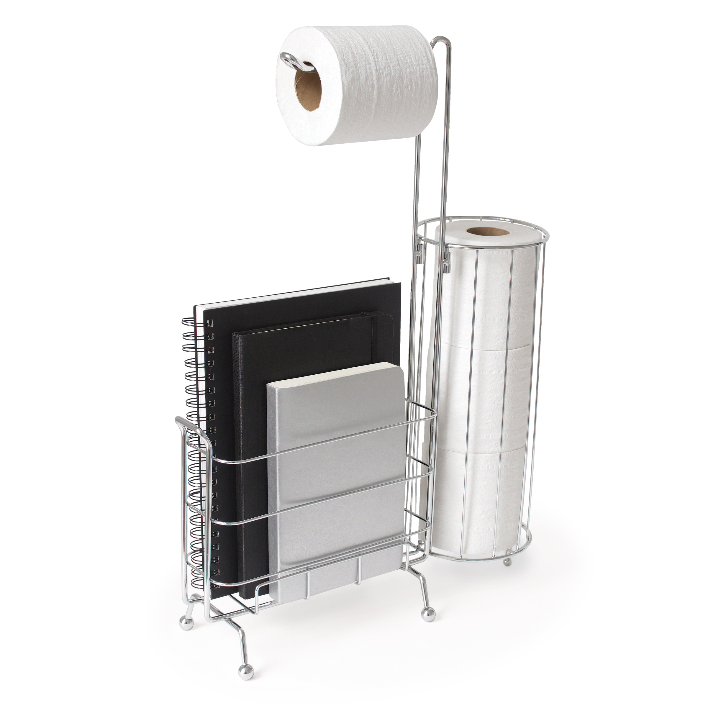 WC toilet paper caddy